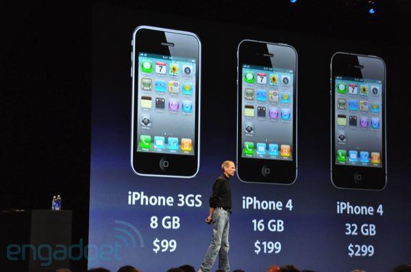 WWDC – Apple představil iPhone 4 ( video)