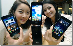 LG Optimus 2X: představeno první dvoujádro