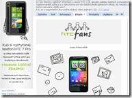 HTC Fans Cz/Sk : nový oficální facebook spuštěn