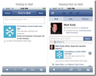 Mobilní Facebook roste a chystá novinky
