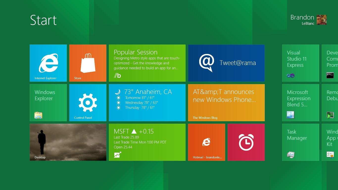 Windows 8: Požadavky pro tablety