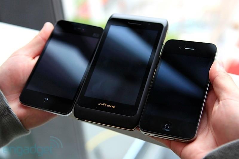 xpPhone 2 poprvé na veřejnosti [video]