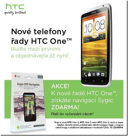 HTC nabízí k HTC One navigaci zdarma