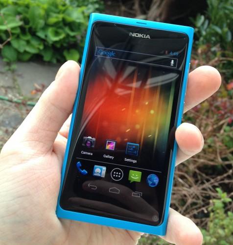 ICS na Nokia N9 – s MeeGo v dual bootu