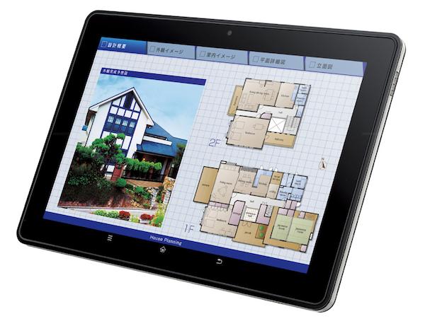 Tablet Sharp RW-T110 – 10 palců a NFC
