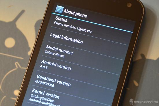 [Spekulace] Galaxy Nexus a Nexus S – update na 4.0.5