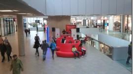 V Ostravě byla otevřená futuristická prodejna Vodafonu