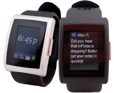 Pebble: Hodinky s E-ink displejem se kamarádí s iPhonem a Androidem [video]