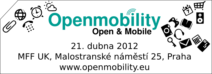 Konference Openmobility 2012 [Tisková zpráva]