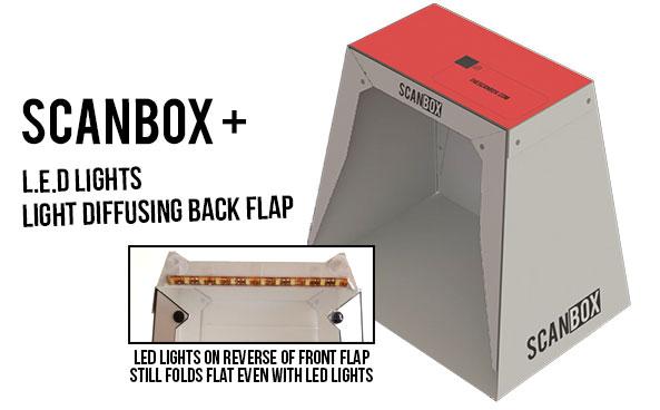 Skenovací krabice pro mobil – Scanbox