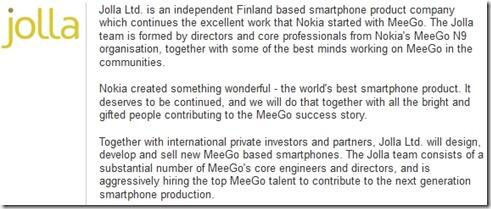 MeeGo žije, nového telefonu se dočkáme letos