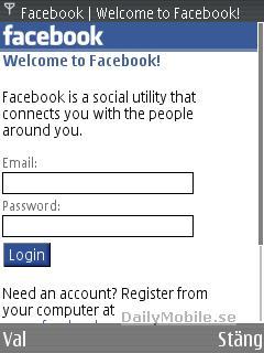 Nová verze Facebooku pro dotykové mobily