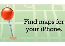 Najděte si mapy pro svůj iPhone