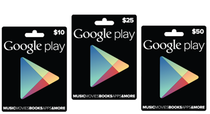 Google Play - Gift Cards-195125