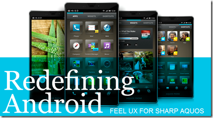 Feel UX skin pro Android od Sharpu[video]