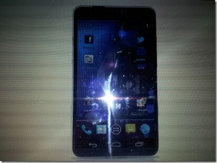 My friend works at Samsung, in a respectable position. He just sent me a picture of the galaxy s3 - Imgur