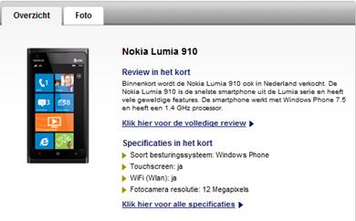 Nokia Lumia 910 review, beoordelingen en aanbiedingen - Typhone.nl-074928