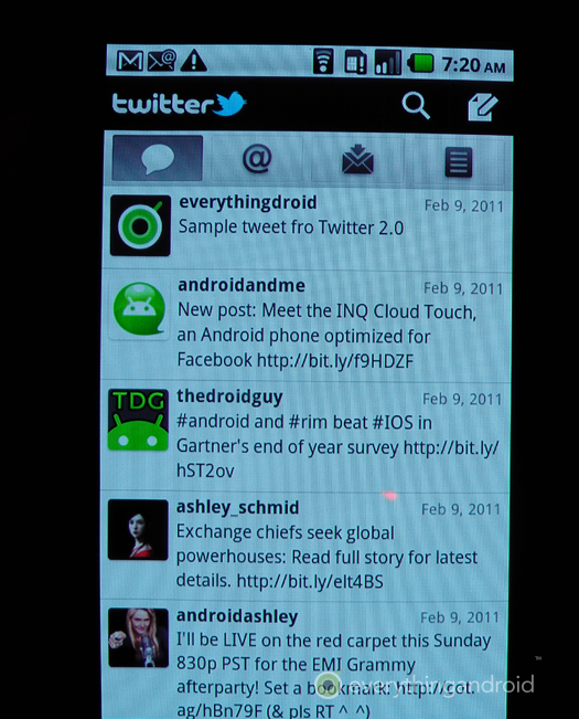 Twitter 2 for Android