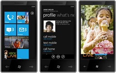 Windows Phone 7 Series handset