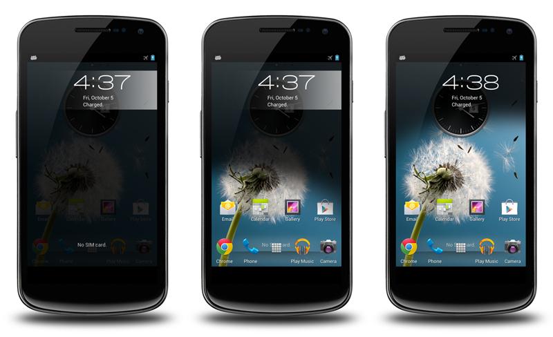 Odemykání displeje z BB10 na Androidu