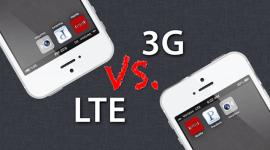 LTE vs. 3G, aneb u nás bychom si neškrtnuli