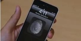 iPhone se čtečkou otisku prstů – další důkaz