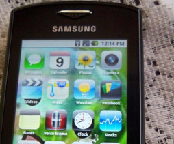 Launcher ve stylu iOS6 pro Android