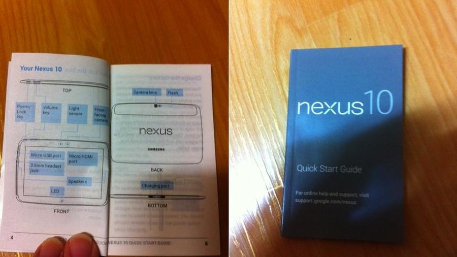 Návod k Nexus 10?