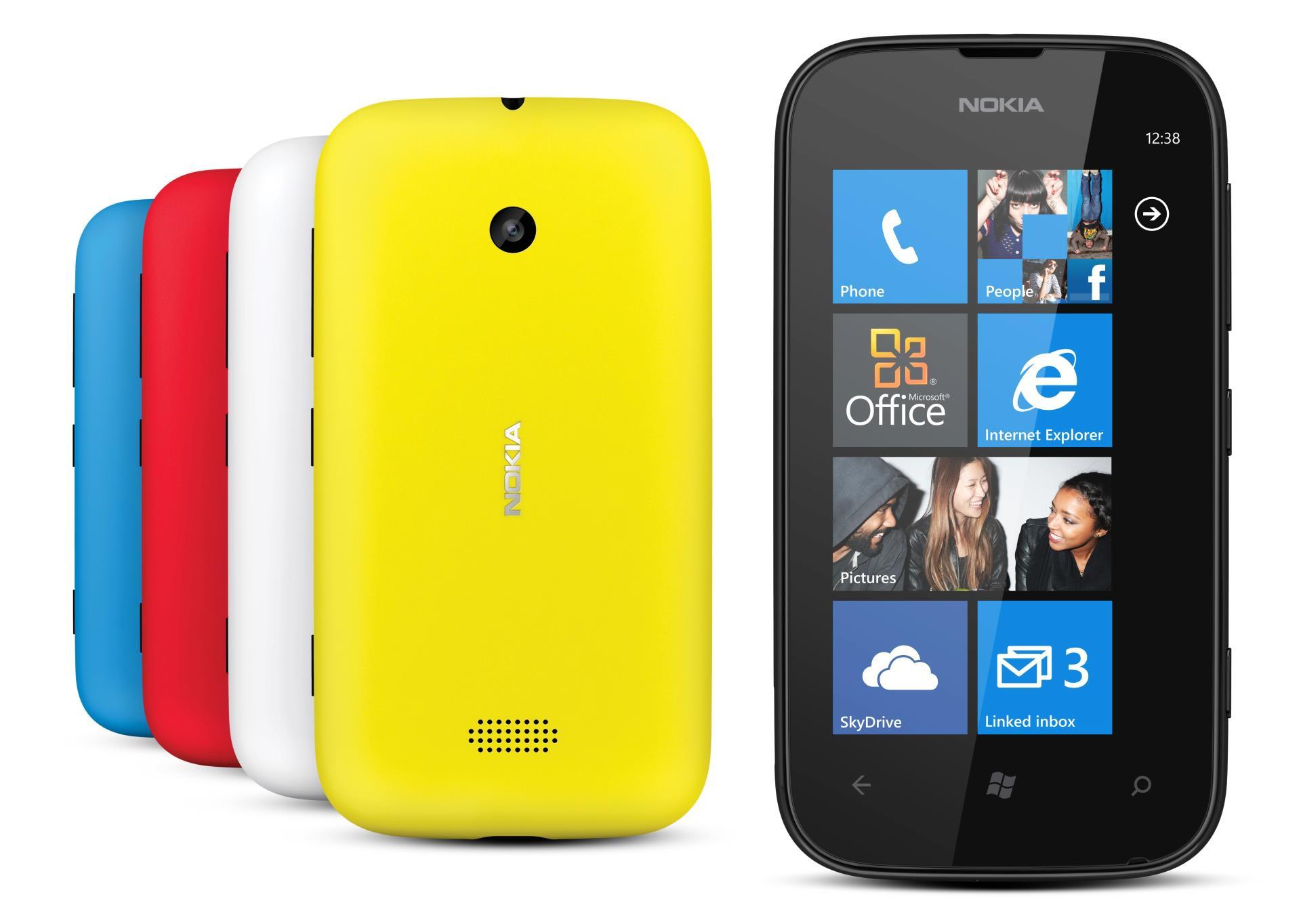 Nokia Lumia 510 oficiálně: Moderní, chytrá, levná