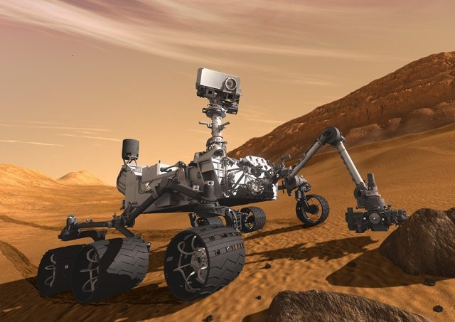 Foursquare: První check-in z Marsu