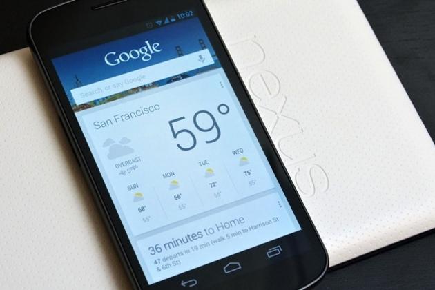 Aktualizace Google Now
