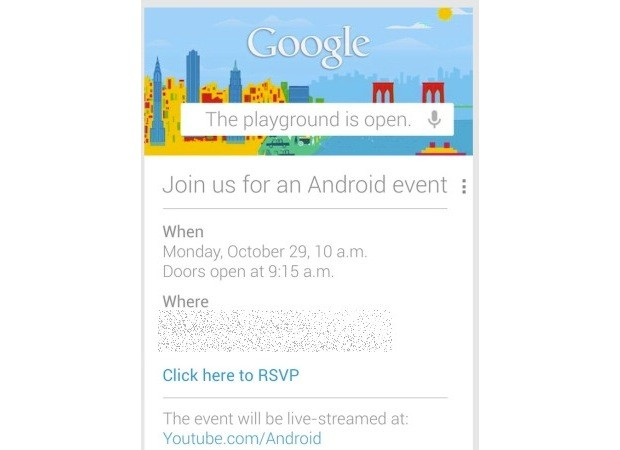 Google zve na Android událost
