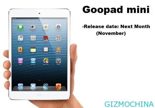 GooPad Mini: iPad mini s Androidem