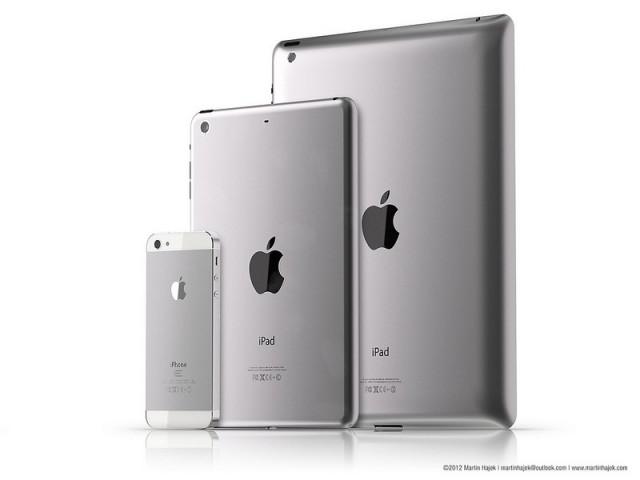 Objeveny ceny iPadů Mini? Celkem 8 modelů (asi)