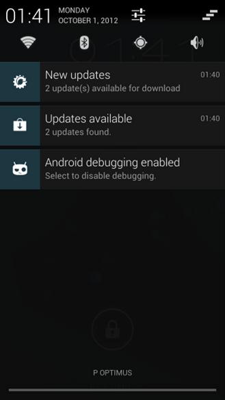 """CyanogenMod OTA v """"Nightly"""" verzi CM10"""