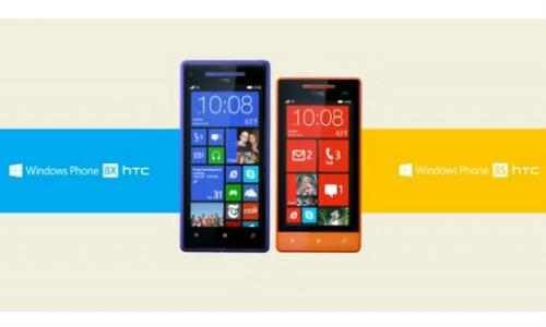 Telefony od HTC běžící na WP8