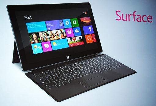 Surface na českém webu Microsoftu. V USA první reklamy.