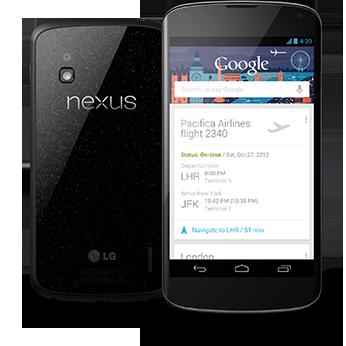 Nexus 4 / 7 3G / 10 – kompletní specifikace