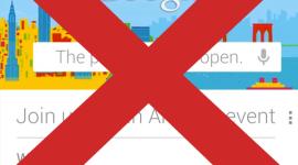 Pondělní keynote Googlu zrušena