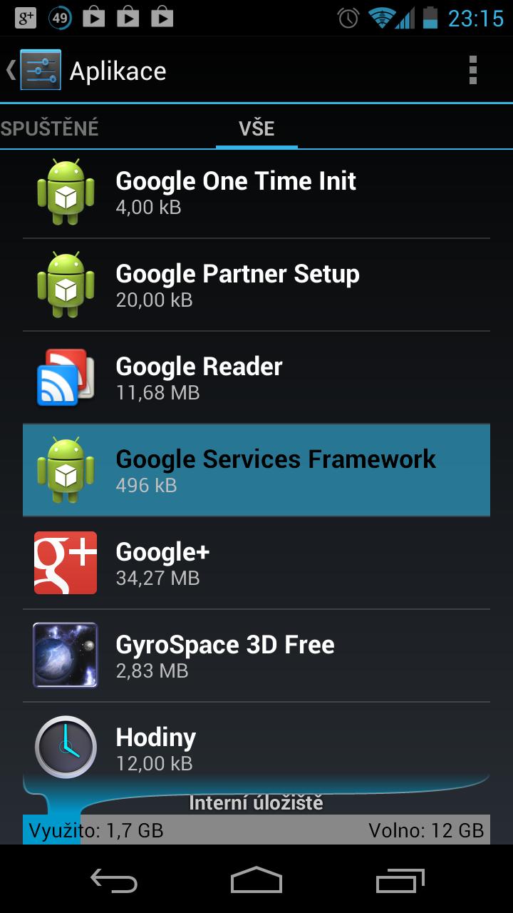 Násilná aktualizace na Android 4.2 může poškodit systém