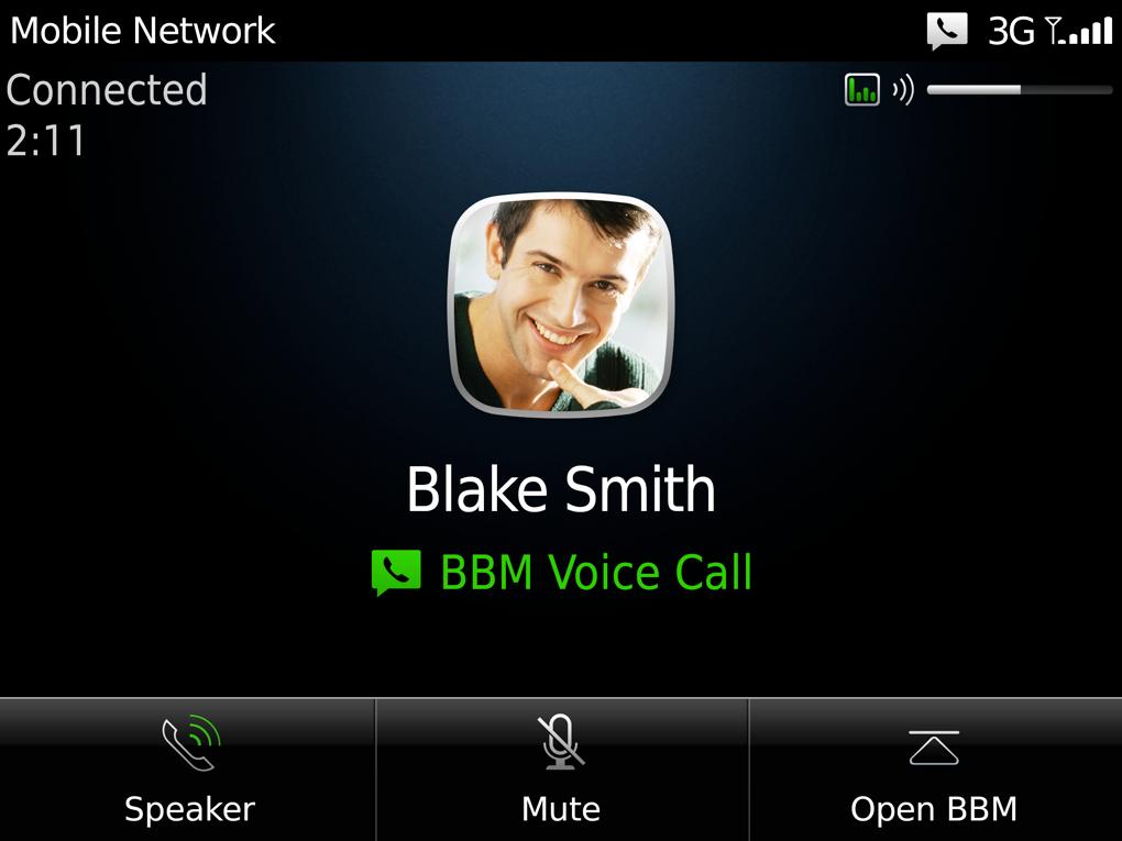 BlackBerry Messenger získá možnost volání skrze Wi-Fi
