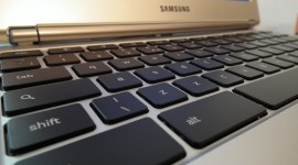 Chromebook: Tablet bez dotykové obrazovky s klávesnicí