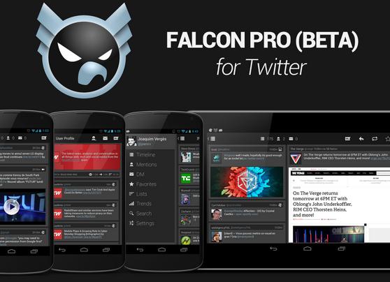 Falcon Pro BETA – nový Twitter klient útočí