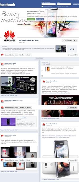 Huawei Device: Oficiálně v Česku na Facebooku