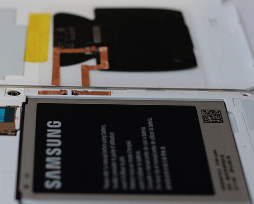 Galaxy Note II s bezdrátovým dobíjením