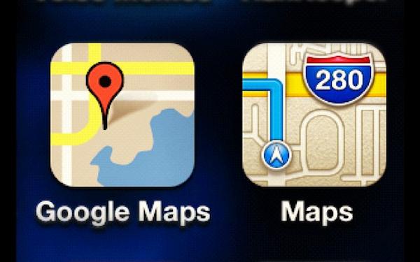 Google Mapy pro iOS jsou za dveřmi
