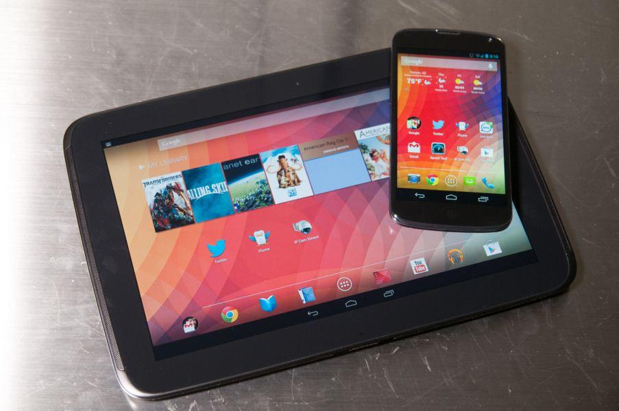 Nový Nexus 4 a 10 prohnán benchmarky
