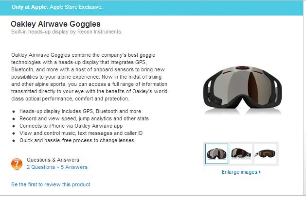 Apple prodává brýle s Androidem ve svém eshopu