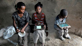 Děti v Etiopii hackují androidí tablety