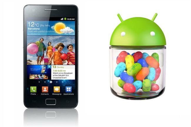 Jelly Bean 4.1.2 pro Galaxy S II s 50 GB v Dropboxu